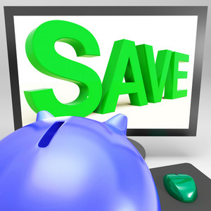 Save On Monitor Showing Cheap Shopping