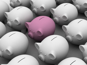 Saving Piggy Bank Business Corporate