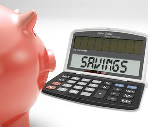Savings Calculator Shows Growth Save And Invest