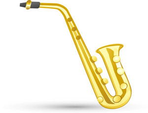 Saxophone Lite Music Icons