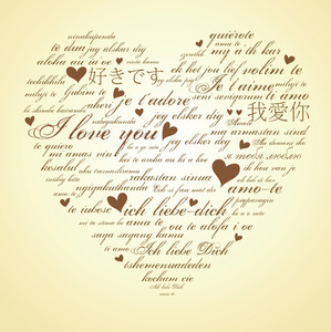 Say I Love You In Many Languages-