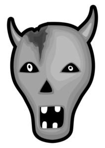 Scary Animal Skull