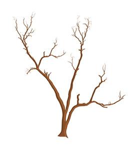 Scary Dead Tree Vector