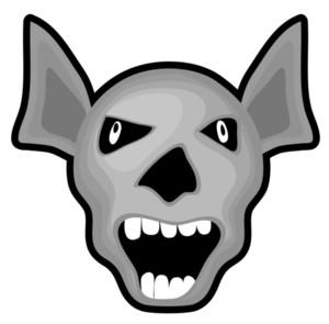 Scary Halloween Vampire Character