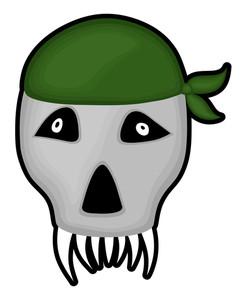 Scary Skull Face