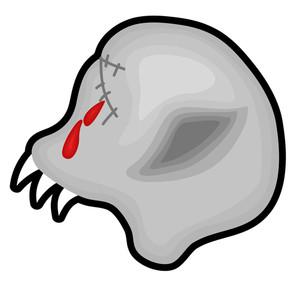 Scary Skull Vector