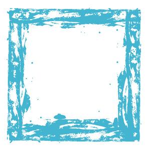 Scatter Grunge Frame Design