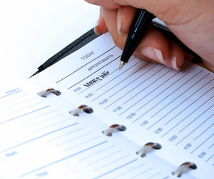 Scheduling A Meeting In A Diary