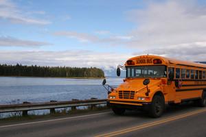 School Bus In Alaska