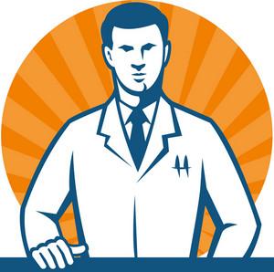 Scientist Researcher Lab Technician Tie
