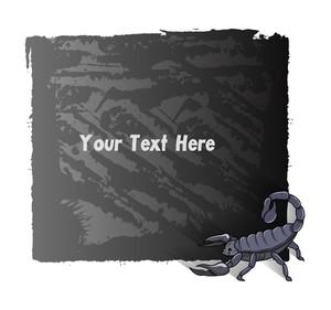 Scorpion Grunge Banner