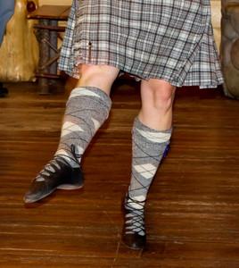 Scottish Dancing People
