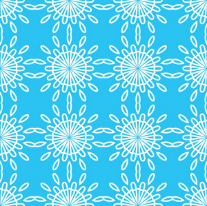 Scrapbook Floral Pattern