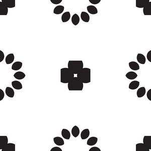 Scrapbook Floral Tile