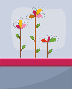 Scrapbooking Flower Background