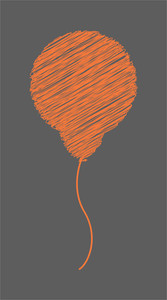 Scribble Balloon