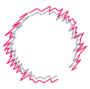 Scribble Line Circle