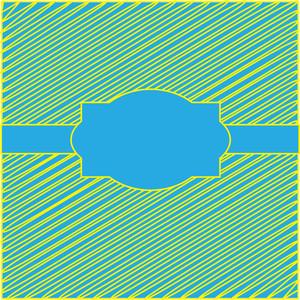Scribble Lines Vintage Label Banner