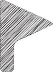 Scribbled Minimal Flag On White Background