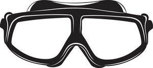 Scuba Goggles Silhouette