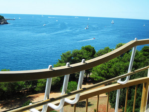 Sea View From Villa