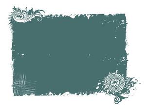 Seagreen Frame Illustration