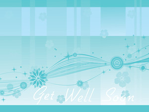 Seagreen Get Well Soon Background