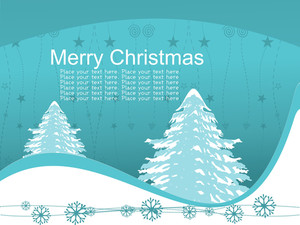 Seagreen Xmas Day Background