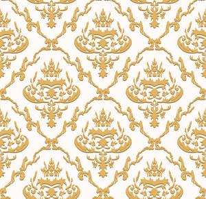 Seamless Baroque Pattern