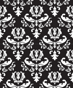 Seamless Baroque Pattern
