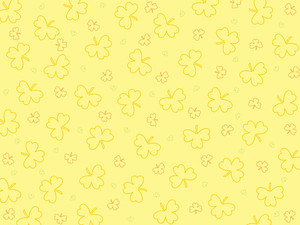 Seamless Clover Pattern Illustration