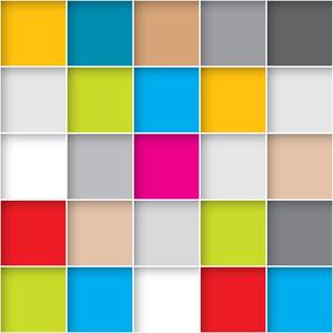 Seamless Cubes. Vector Pattern Texture.