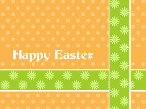 Seamless Easter Day Background
