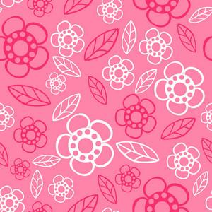 Nahtlose Blumenmuster. Blumen-Textur. Gänseblümchen.