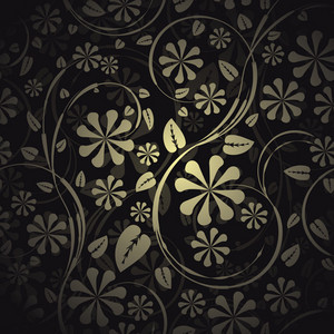 Seamless Floral Pattern Vector Illustration