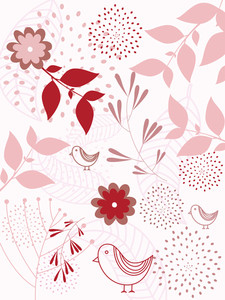 Seamless Natural Pattern Background