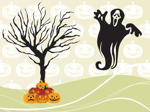 Seamless Pumpkin Background For Halloween
