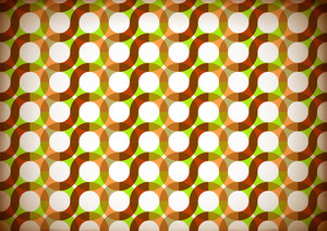 Seamless Retro Wrapping Paper Design