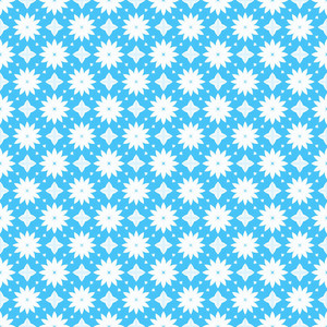 Seamless Scrapbook Flowers Pattern