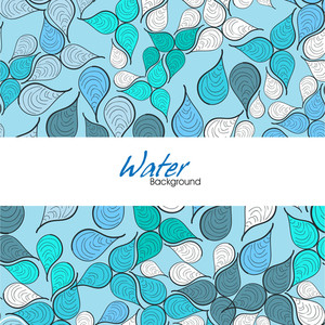 Seamless Water Background