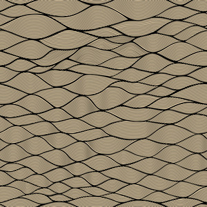 Seamless Waves Texture