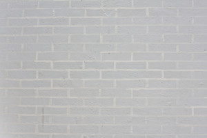 Seamless white brick wall - background pattern for continuous replicate.
