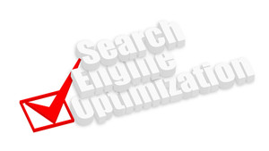 Search Engine Optimization 3d Banner