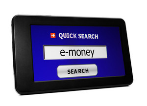 Search For E-money