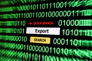 Search For Export