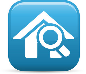Search Home Elements Glossy Icon