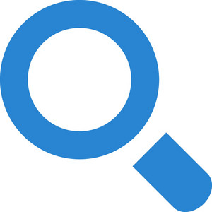 Search Or Zoom Simplicity Icon