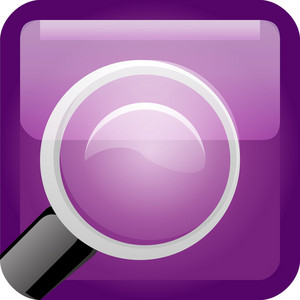 Search Purple Tiny App Icon