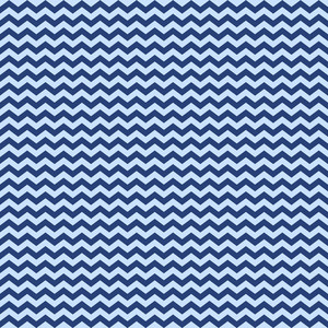 Blue Chevron Pattern