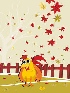 Seasonal Background Illustration